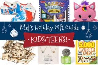 Mel's Holiday Gift Guide: Kids/Teens