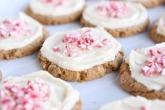 Soft Gingerbread Swig Sugar Cookies {No Rolling or Cutting Out}