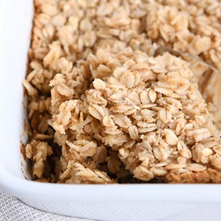 Easy Amish Baked Oatmeal