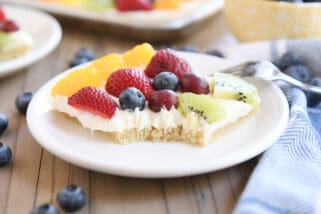 Perfect Fruit Pizza {New and Improved}