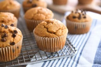 Sourdough Pumpkin Muffins {a.k.a. The Best Muffins On The Planet}