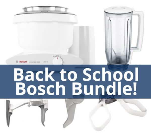 Back to School Bosch Mixer Special {Huge Discount Code!}   Mel\'s ...