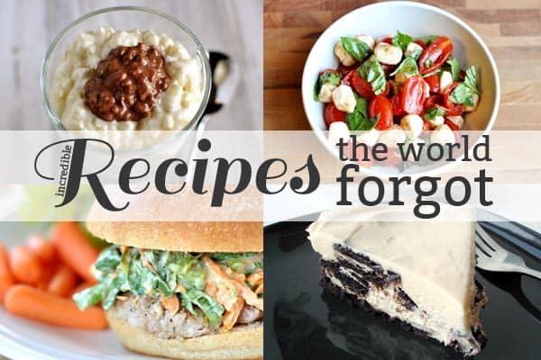 Recipes the World Forgot 9