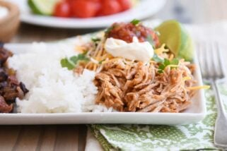 Instant Pot Mexican Pork {Slow Cooker Directions Included}
