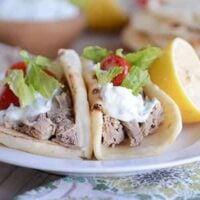 Tender Greek Pork {Instant Pot or Slow Cooker}