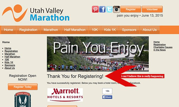 Utah Valley Marathon Race and Discount