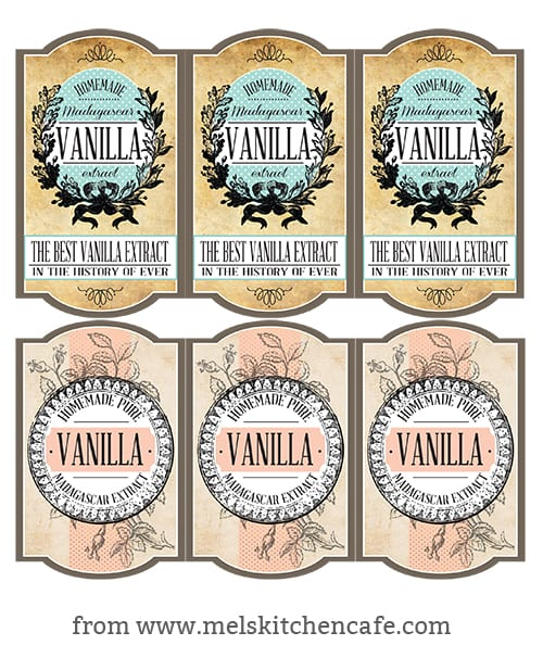 Vanilla Extract Lables copy