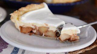 Apple Cheesecake Pie