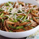 Penne with Roasted Asparagus and Balsamic Butter