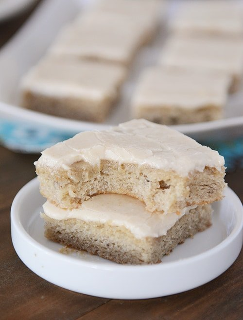 Sour Cream Banana Cake With Brown Butter Frosting