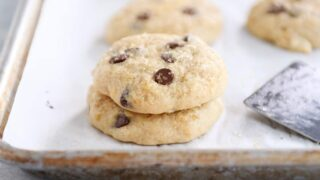Soft Banana Bread Cookies