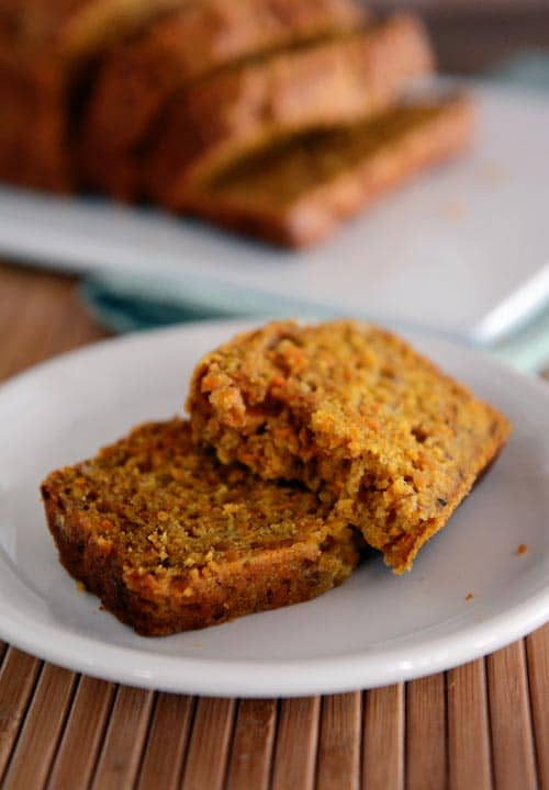 banana carrot bread2 Banana Carrot Bread