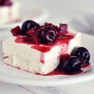 Berries on a Cloud Dessert
