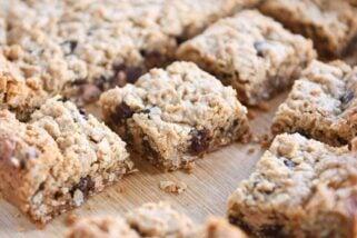 Butterscotch PB Monster Cookie Bars {Easily Gluten Free}