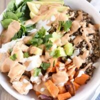 Mel's Buddha Bowls {With Super Tasty Peanut Sauce}