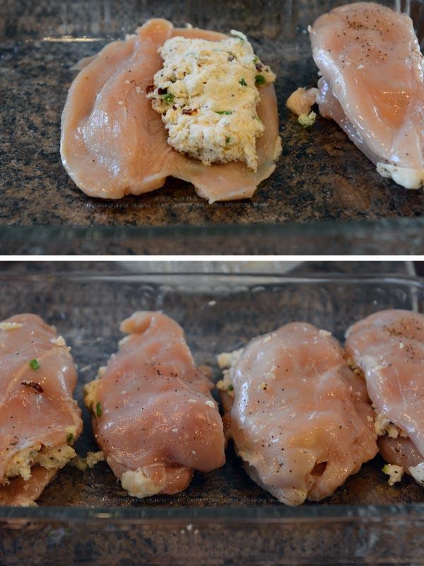 Stuffed Chicken Marsala {Olive Garden Copycat}