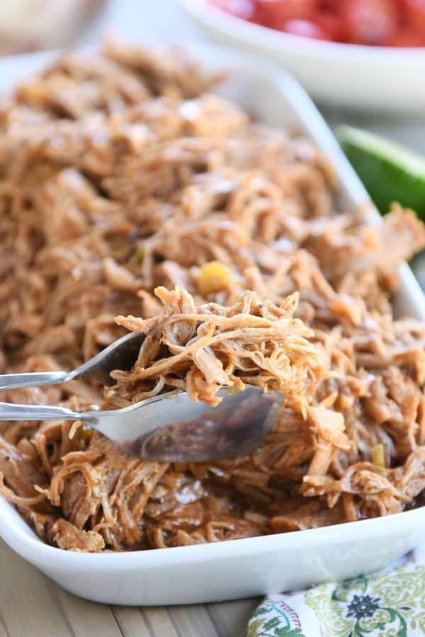 Copycat Sweet Pork Recipe {Pressure Cooker or Slow Cooker}