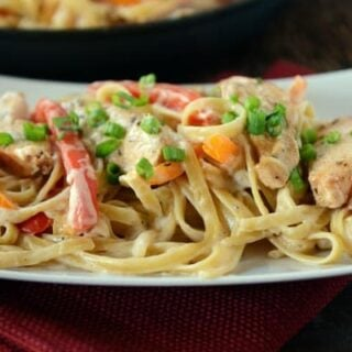 Lightened Up Cajun Chicken Pasta