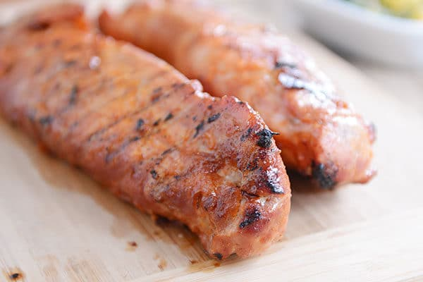 Easy and fast, this smoky grilled pork tenderloin is tender, flavorful, and PERFECT!