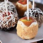 This One Time I Did a Cooking Demonstration {Gourmet Caramel Apples + Free Printable Handout + The Fairy Dragon}