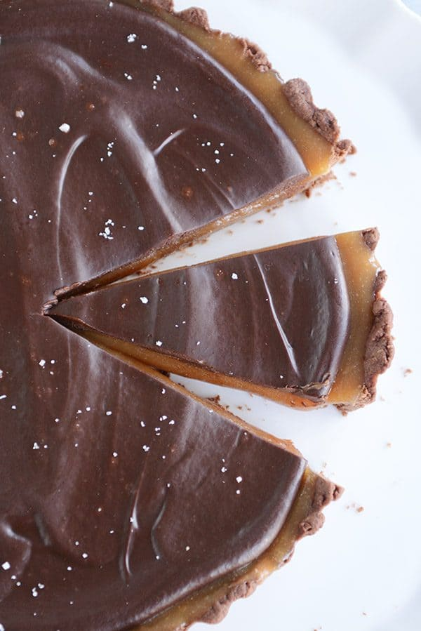 Chocolate Caramel Tart No Candy Thermometer Mel S Kitchen Cafe