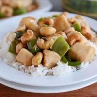 Chinese Cashew Chicken {30-Minute Meal}