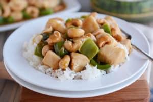 30-Minute Chinese Cashew Chicken