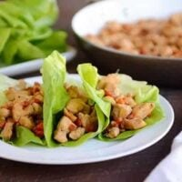 Cashew Chicken Lettuce Wraps