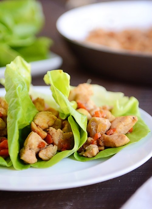 51 Responses to Cashew Chicken Lettuce Wraps {20-Minute Meal}