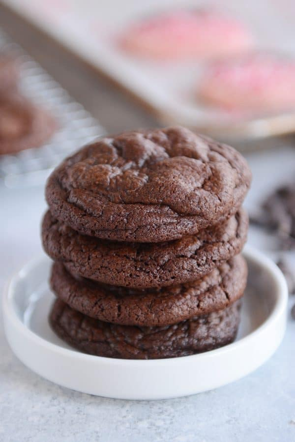 One-Bowl Fudgy Brownie Cookies | Mel\'s Kitchen Cafe