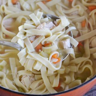 Quick and Delicious Chicken Noodle Soup