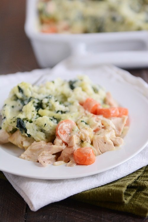 Chicken Shepherd's Pie with Kale Mash