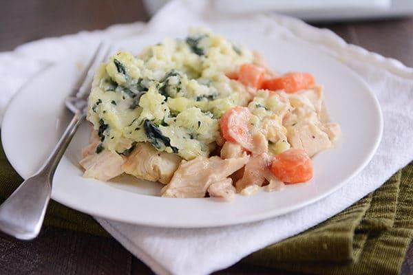 Chicken Shepherd's Pie with Kale Mash