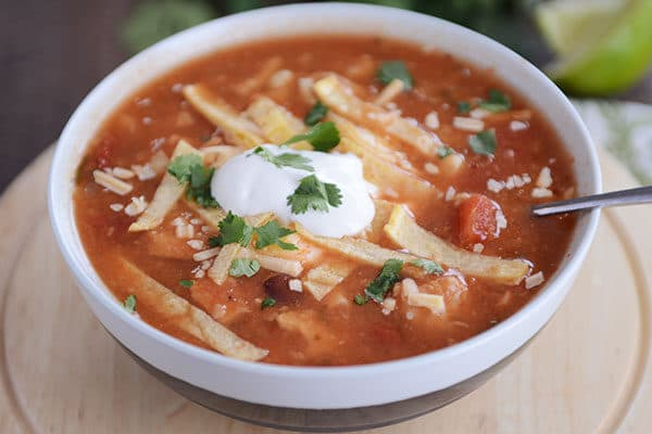 Chicken Tortilla Soup Mel S Kitchen Cafe
