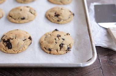 Soft and Chewy Chocolate Chip {or Chocolate Chunk} Cookies