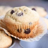 Easy One-Bowl Chocolate Chip Muffins