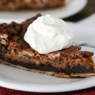 Chocolate Caramel Pecan Pie
