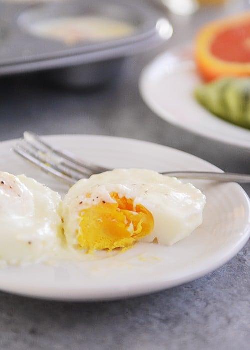 Christmas Baked Eggs