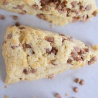 Cinnamon Chip Scones {Best Basic Scone Recipe}