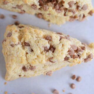 Cinnamon Chip Scones {Best Basic Scone Recipe}