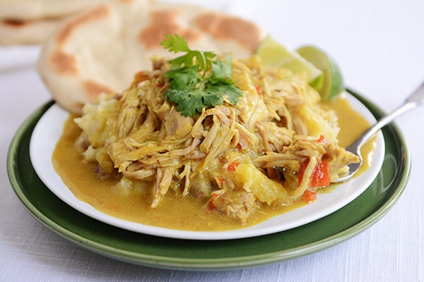 Slow Cooker Coconut Curry Pork