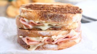 Chicken Cordon Bleu Panini Sandwich