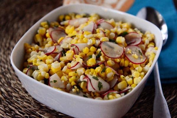 Corn and Radish Salad
