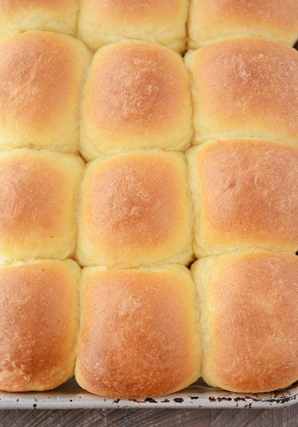 Buttery Cornmeal Rolls - Best Dinner Rolls