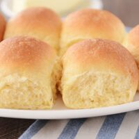 Buttery Fluffy Cornmeal Dinner Rolls