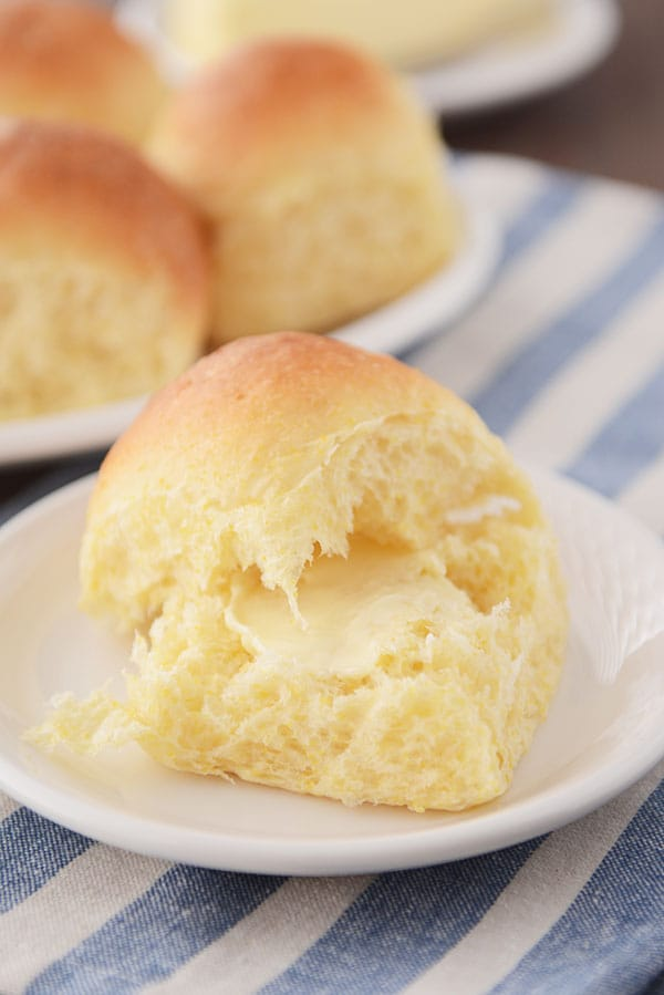 Buttery Cornmeal Dinner Rolls - Best Dinner Rolls