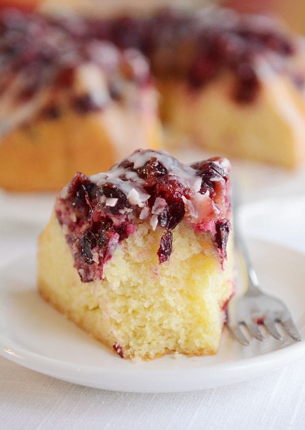 Glazed Cranberry Lemon Cake   Mel's Kitchen Cafe