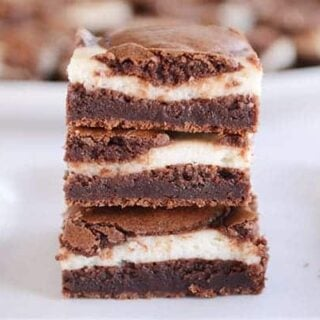 Cream Cheese Cheesecake Brownies