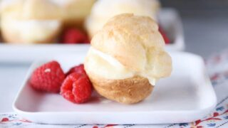 Amazing and Foolproof Cream Puffs