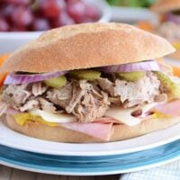 Cuban Sandwiches {Slow Cooker or Pressure Cooker}